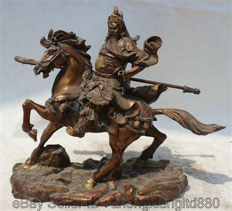 Sword Warrior Pvc Statue 11 quot bronze guan gong yu warrior justice god on hold sword statue warriors god
