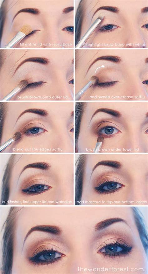 Eyeshadow Coklat 33 best makeup tutorials for blue neutral smokey eye smokey eye tutorial and fair skin