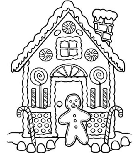 printable gingerbread house patterns to color printable holiday coloring pages coloriage pain et no 235 l