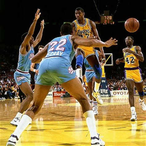 magic johnson no look pass l a lakers a tribute to chick hearn the best basketball