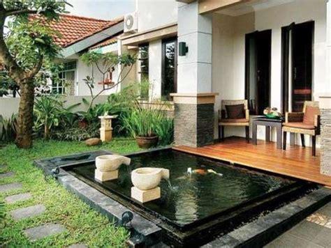 penataan teras rumah minimalis sederhana  menarik