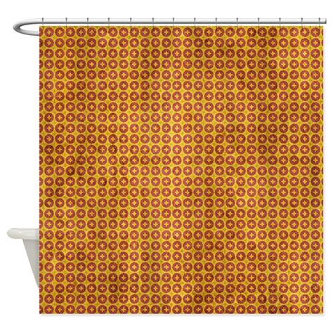 red and yellow shower curtains red and yellow grunge wallpaper shower curtain by cuteprints