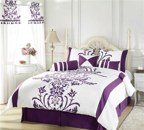 purple queen bed set purple comforter sets purple bedroom ideas