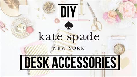 kate spade desk accessories diy kate spade inspired desk accessories dana jean youtube