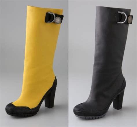 high heel rubber boots high heeled rubber boots