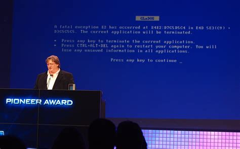 blue ending meaning file gdc2010 newell portal bsod jpg wikimedia commons