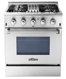 Dual Fuel Cooktop Dual Fuel Professional Ranges By Thor Kitchen Stoves
