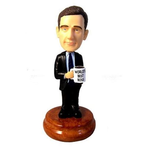 bobblehead the office michael bobblehead the office photo 1150357 fanpop