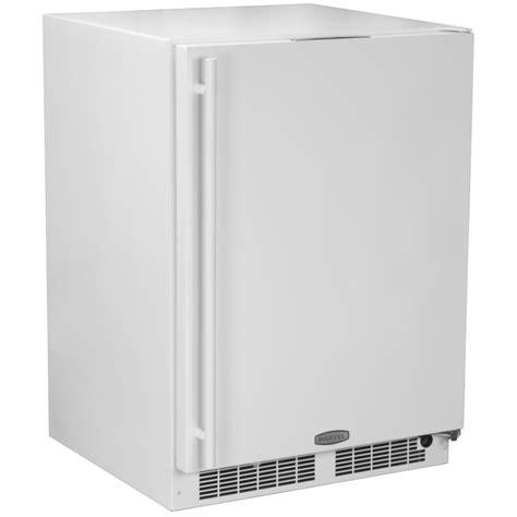 cabinet depth refrigerator lowes shop marvel 5 1 cu ft counter depth compact refrigerator