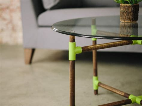 table pvc how to make a pvc pipe coffee table danmade dan faires make reclaimed wood furniture hgtv