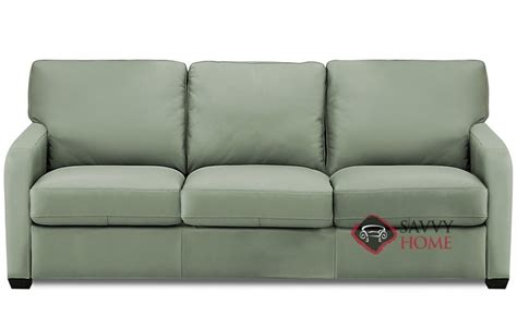 sleeper sofa leather queen westside leather queen by palliser is fully customizable