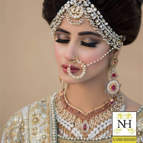 Bridal Photo Shoot Pics by Sajal Ali Bridal Photoshoot For Hussain Salon Style Pk