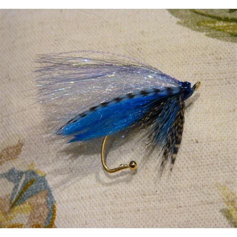 Handmade Flies - teal and blue silver fly fly brooch