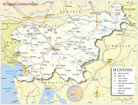 in slovenia slovenia map map2