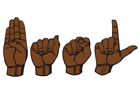 how to a deaf signals black american sign language