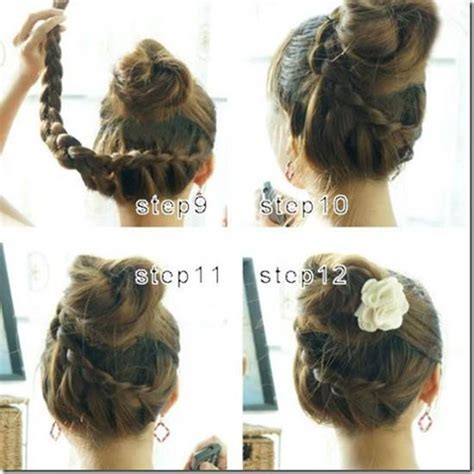 beautiful and easy to make hairstyles how to make beautiful french braids updo hairstyle