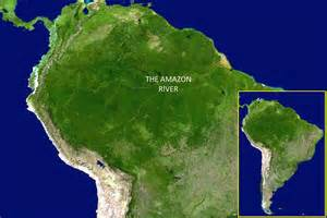 rainforest map south america slideshow nasa satellite image of south america