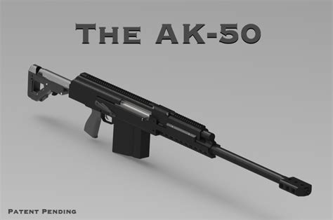 An AK in .50 BMG: Introducing The AK-50 (Project AKG ... Ar 15 Barrel Cheap