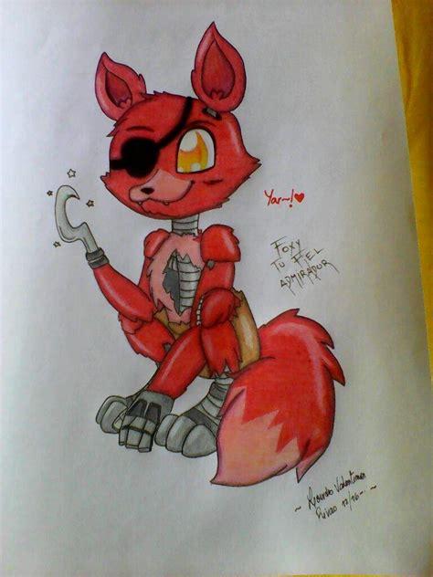 imagenes de fnaf kawaii para dibujar c 243 mo dibujar a foxy fnaf amino espa 241 ol amino