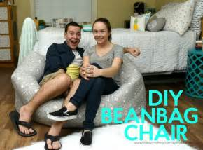 diy bean bag chair a craft in your daya