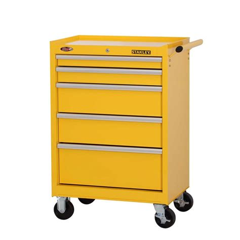 27 in w 7 drawer tool cabinet stanley 27 in w 5 drawer tool cabinet yellow h5trsy
