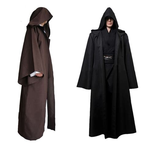 cheap jedi robes popular brown hooded robe buy cheap brown hooded robe lots