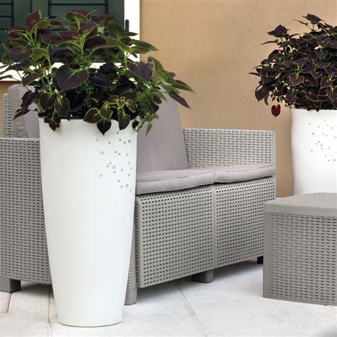 vasi piante vaso di design per piante con finitura opaca e cristalli