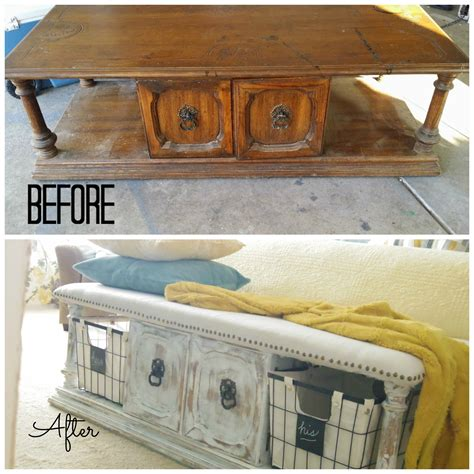 coffee table into bench upholstered bench from a coffee table 183