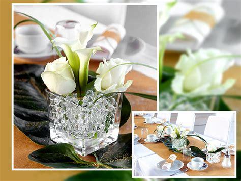Blumen F R Tischdeko Hochzeit by Tischdekoration Diamantene Hochzeit Tischdekoration F R