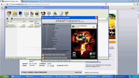 resident evil 5 cheats pc trainer download resident evil 5 cheat dx10 and dx9 by reza youtube