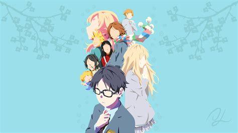wallpaper anime shigatsu shigatsu wa kimi no uso arima kousei miyazono kaori