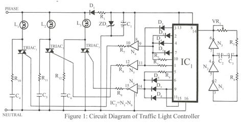 traffic light wiring diagram