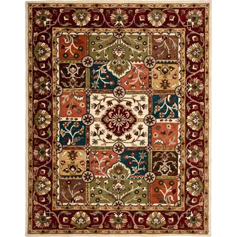 safavieh heritage accent rug in red multi hg926a 2 safavieh heritage multi red 7 ft 6 in x 9 ft 6 in area