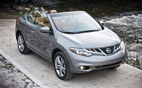 nissan awd convertible 2011 nissan murano crosscabriolet awd editors notebook