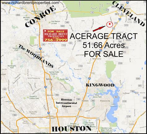 map of montgomery county texas richard brent properties for sale acreage tract 51 66 acres in montgomery county texas