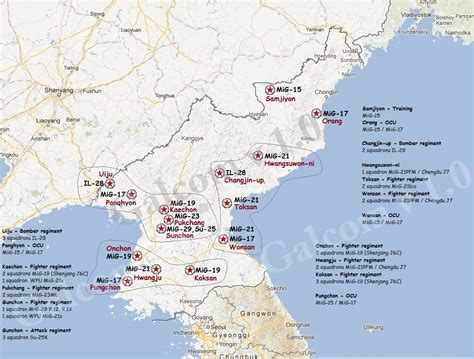 us air bases in korea map the aviationist 187 jong un