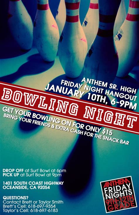 templates for bowling flyers 17 best images about bowlin flyer on pinterest party