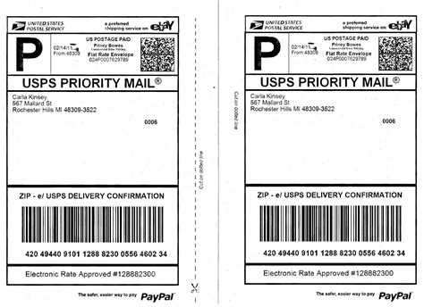 usps shipping label template usps shipping label template template design