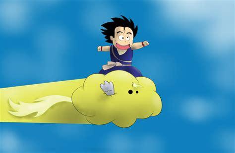 goku riding the cloud tattoo goku on flying nimbus by gearhorn on deviantart