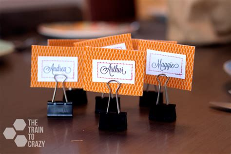 how to make name cards for table easy name place holders by the to skip to my lou