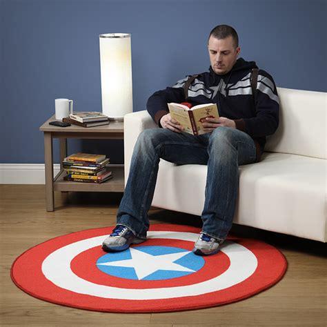 avengers bedroom rug captain america printed round rug