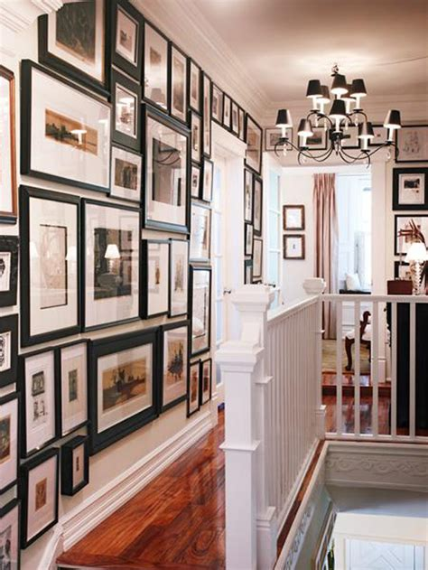 ideas on hanging pictures in hallway decorating ideas for upstairs hallway room decorating