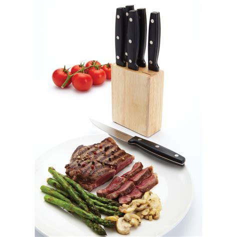 kitchen craft knives kitchen craft kcknbsteak 6 steak knife set with