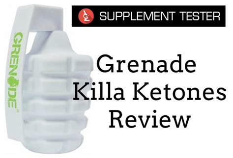 testo grenade grenade killa ketones review