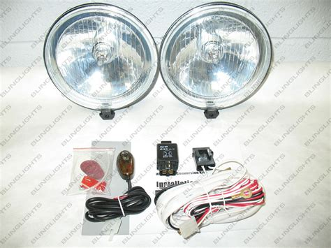 universal round fog lights 5 5 quot 5 1 2 quot 5 1 2 inch round universal fog lights driving