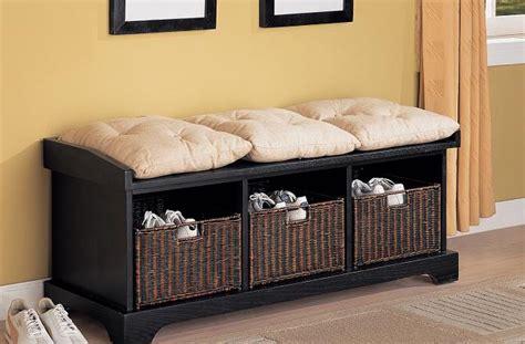 cassapanca con seduta panca in legno con contenitori
