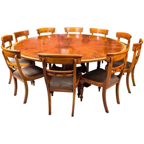 Theodore Alexander Flame Mahogany Jupe Dining Table And Theodore Dining Tables