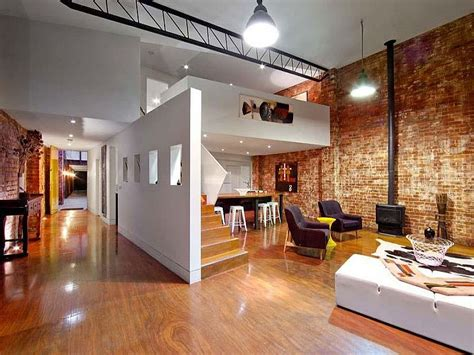 home interior warehouse beautiful brick walls warehouse conversion in fitzroy conceals delights