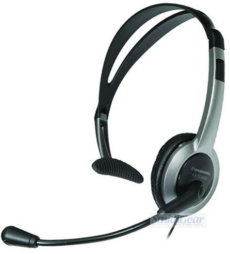 panasonic kx tca430 comfort fit foldable headset panasonic kx tca430 foldable over the head 2 5 mm headset
