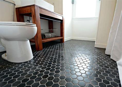 hex tiles for bathroom floors best 25 black hexagon tile ideas on hexagon